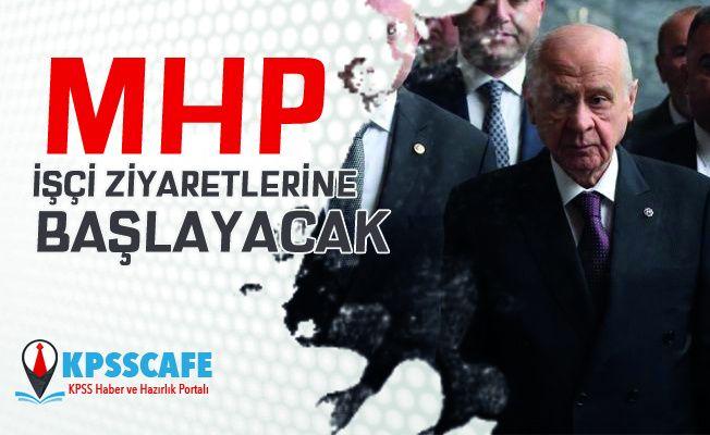 MHP İşçi Ziyaretlerine Başlayacak!