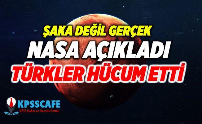 Şaka değil gerçek ! NASA açıkladı, Türkler hücum etti !