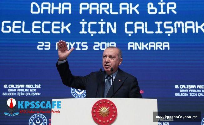 Erdoğan'dan İşçi Almayan Fabrikatörler ve İstihdam Açıklaması