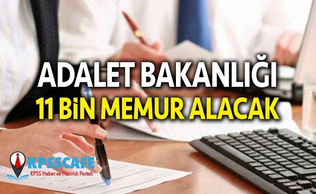 İş Arayanlara Müjde: Adalet Bakanlığı 11 Bin Memur Alacak!