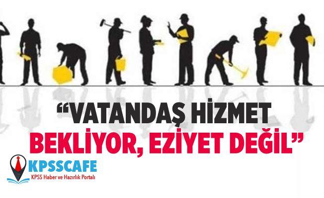 Çetin Arık'tan Sarız Belediyesinde İşçi Kıyımına Tepki!