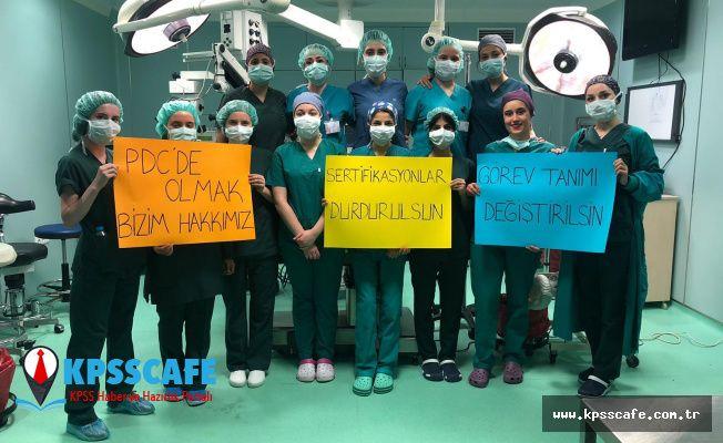 Ameliyat Teknikerleri Yönetmelik Mağduru!