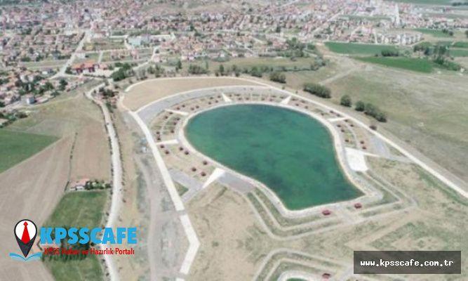 AK Parti amblemi şeklinde havuz yaptı