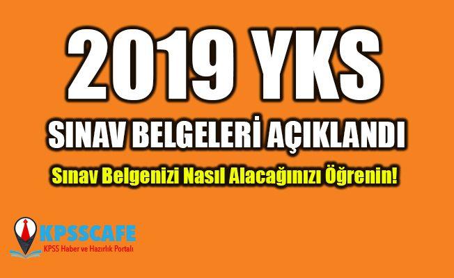 YKS Sınav Giriş Belgeleri Açıklandı!