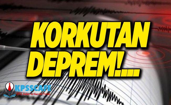 Dünya sallandı! O ülkede 6,6 şiddetinde deprem