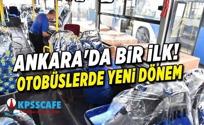 Ankara'da bir ilk! Otobüslerde yeni dönem