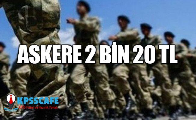 Askere 2 bin 20 TL! Yeni askerlik sistemi nasıl olacak?