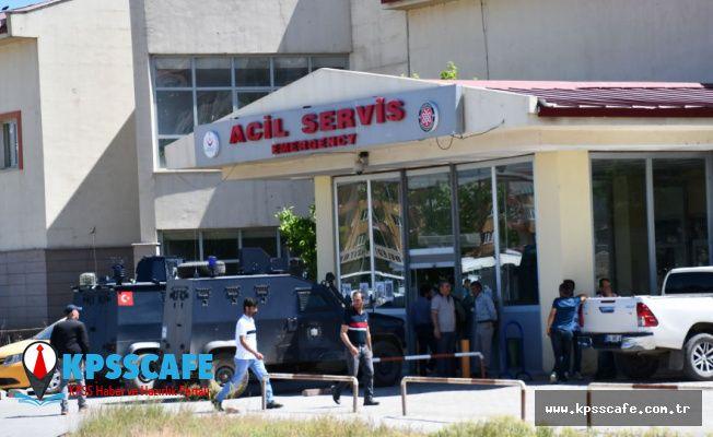 Ağrı'da işçileri taşıyan aracın geçişi sırasında patlama: 1 ölü, 8 yaralı