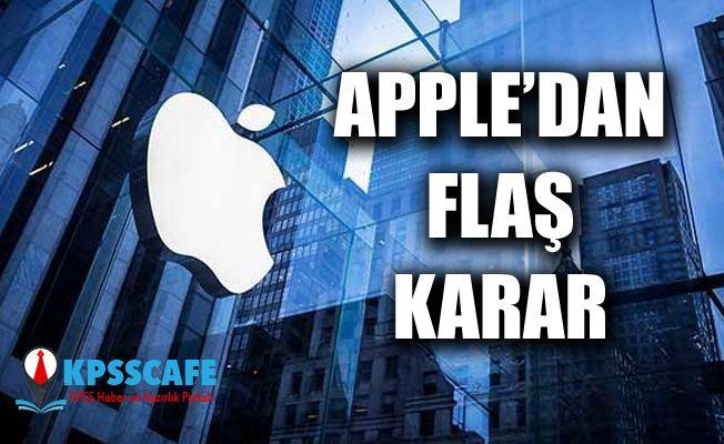 Apple'dan Flaş Karar! O Uygulamayı Kaldırıyor!