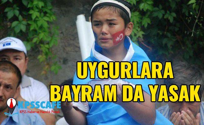 Uygurlara bayram da yasak