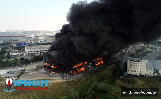Çayırova'da tekstil fabrikasında yangın: 4 işçi hayatını kaybetti