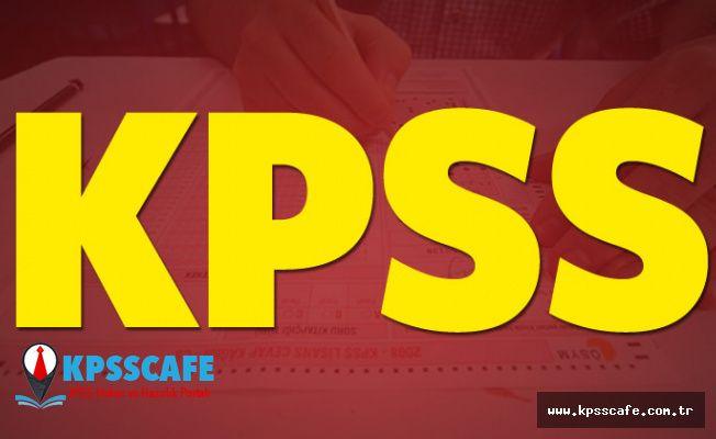 KPSS sınavları ne zaman? 2019 KPSS sınav giriş yerleri açıklandı mı?