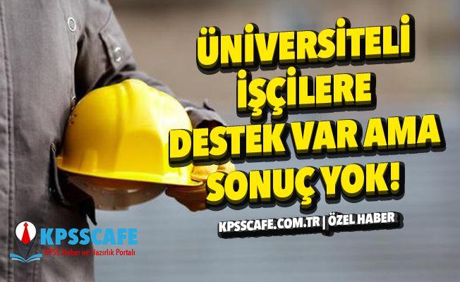 Üniversiteli İşçilere Destek Var, Sonuç Yok!