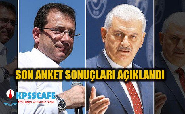 Optimar ve MAK Araştırma son İstanbul seçim anketi sonuçlarını açıkladı