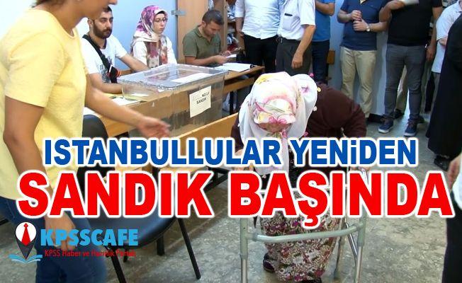 İstanbullular yeniden sandık başında