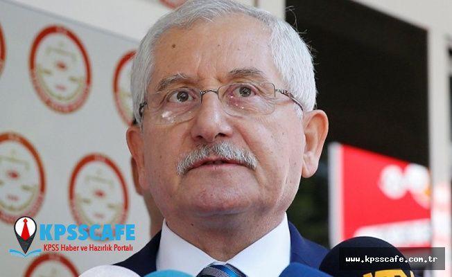 YSK Başkanı Güven'den açıklama: İtiraz süreçleri bittiğinde mazbata hak edene teslim edilecek