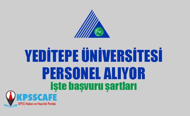 Yeditepe Üniversitesi Personel Alıyor!