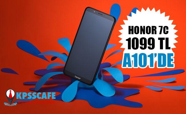 HONOR 7C, 1099 TL'lik Özel Fiyatıyla A101'de Satışta!