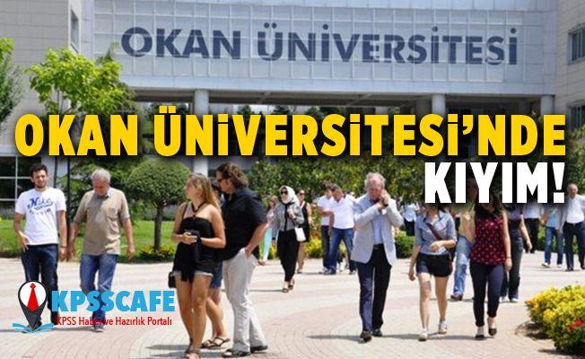 Okan Üniversitesi'nde kıyım!