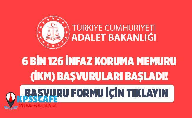 6 Bin 126 İnfaz Koruma Memuru (İKM) Başvuruları Başladı!
