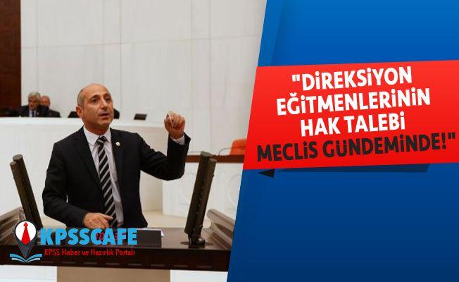 """""""Direksiyon Eğitmenlerinin Hak Talebi Meclis Gündeminde!"""""""
