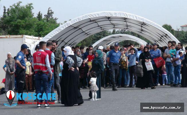6 ayda 79 bin 886 Suriyeli ülkesine geri döndü