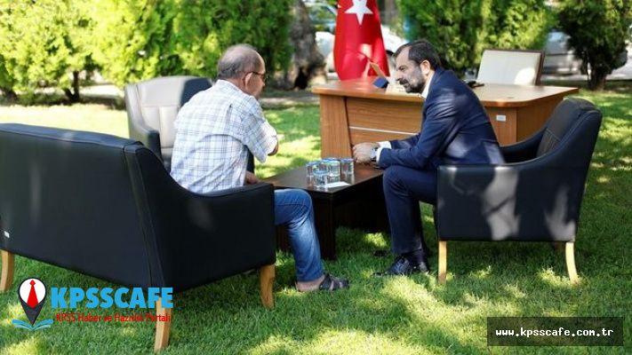 Türkiye'de bir ilk ! Belediye başkanını görenler şaştı kaldı