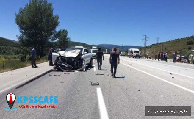 Erzincan'da feci kaza! Ölü ve yaralılar var