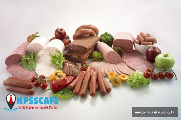 İşlenmiş et ürünleri kanser riskini arttırıyor