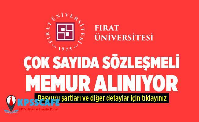 Fırat Üniversitesi Çok Sayıda Hemşire, Fizyoterapist ve Sağlık Personeli Alıyor!