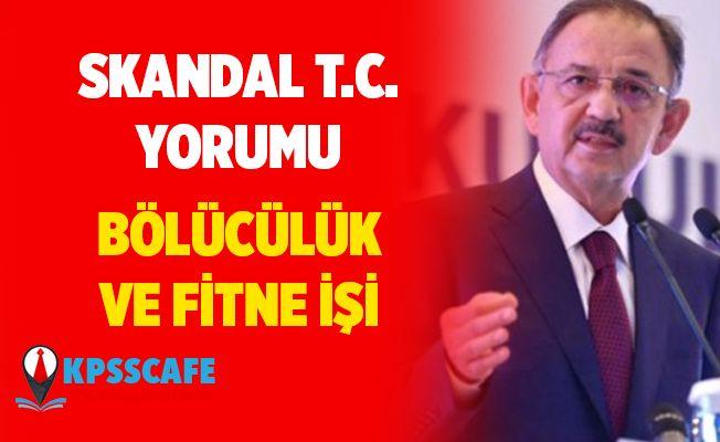 AK Partili Özhaseki'den skandal ''T.C.'' yorumu