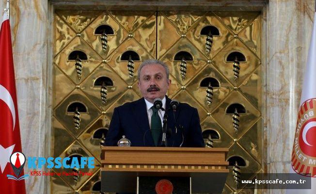 TBMM Başkanı Şentop: Darbe girişiminde Meclis'in bombalanması boşuna değil