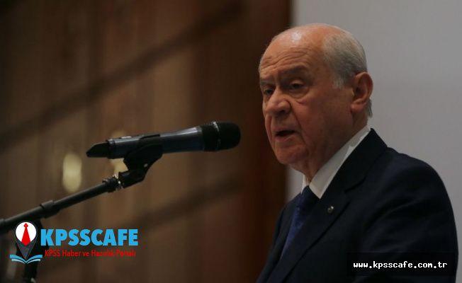 Bahçeli'den Kılıçdaroğlu'na yanıt: Milletin 'evet' dediği sistemi tartışmaya açmak doğru değil