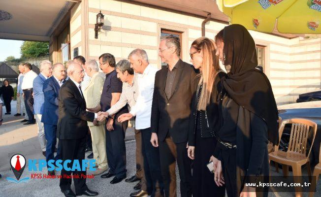 Kemal Kılıçdaroğlu'ndan Fırat'ın ailesine taziye ziyareti