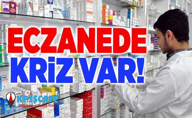 Eczanede kriz var! Onlarca ilaç piyasada bulunamıyor!