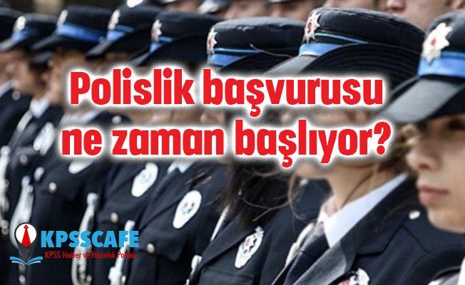 2019 Polislik başvurusu ne zaman başlıyor kaç kadın polis alınacak?