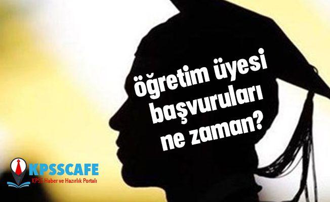 İstanbul Aydın Üniversitesi öğretim üyesi başvuruları ne zaman?
