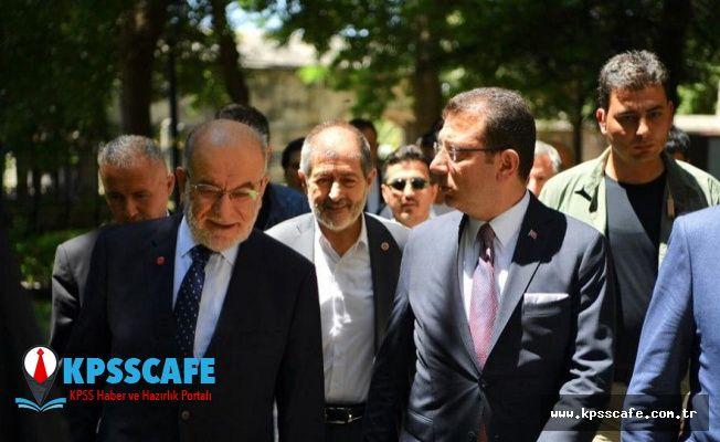 İmamoğlu'nu ziyaret eden Karamollaoğlu: Seçimlerin yenilenmesi isabetli oldu, İstanbul halkının iradesi tecelli etti