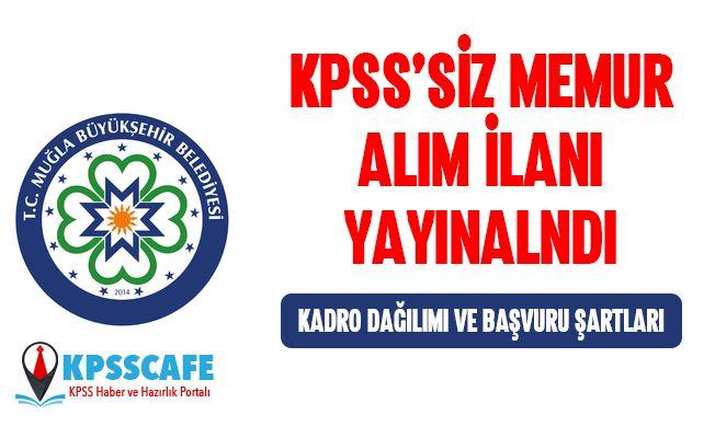Belediyeye KPSS'siz Çok Sayıda Personel Alınıyor! İşte Detaylar...
