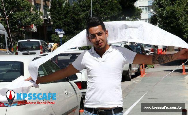 10 ayda 35 trafik cezası geldi: 'Yanlamayalım, drift yapmayalım' dedi, 5 metrelik makbuzuyla poz verdi