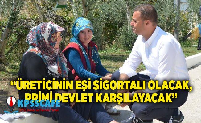 CHP'li Ahmet Akın'dan Kırsalda Emeklilik Hayali Kuran Kadınlar İçin Kanun Teklifi