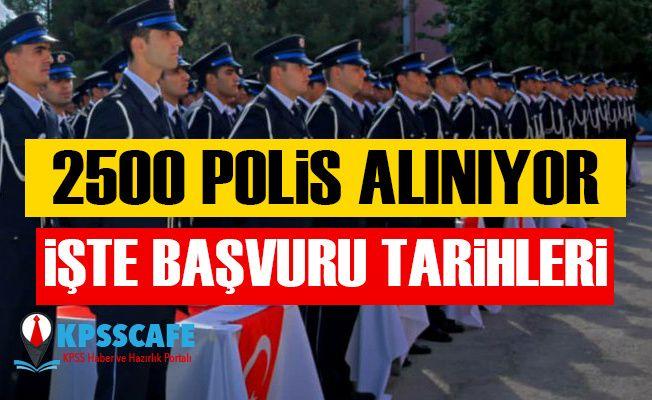 2019 Yılı PMYO 2500 Kadın-Erkek Polis Alımı Sınav Duyurusu! 2500 Polis Alım Başvuru Tarihleri ve Başvuru Şartları