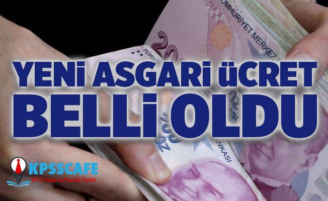 Kuzey Kıbrıs'ta yeni asgari ücret belli oldu