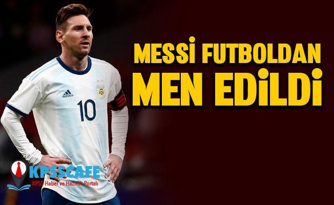 Messi'ye Futboldan Men Cezası!