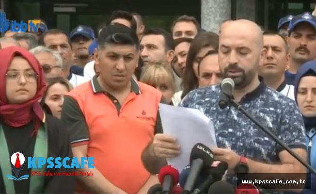 İBB önünde okuduğu bildiriyle İmamoğlu'nu kınayan Murat Kazanasmaz'ın işine son verildi
