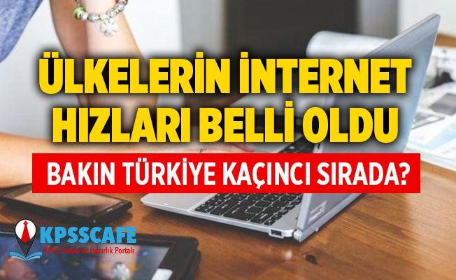 Ülkelerin internet hızı sıralaması: Türkiye 102. basamağa geriledi, zirvede Tayvan var