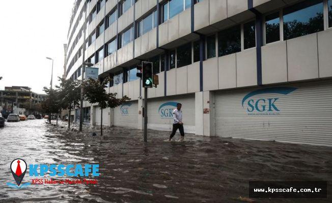 İstanbul Valiliği'nden yağış uyarısı: Sürecek