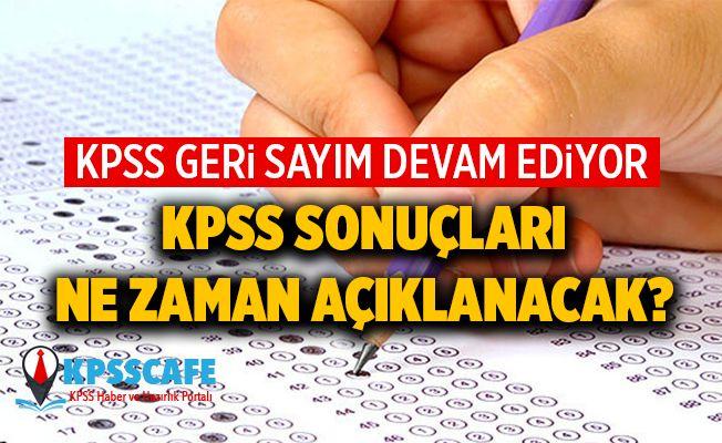 KPSS İçin Geri Sayım Devam Ediyor... 2019 KPSS sonuçları ne zaman açıklanacak?