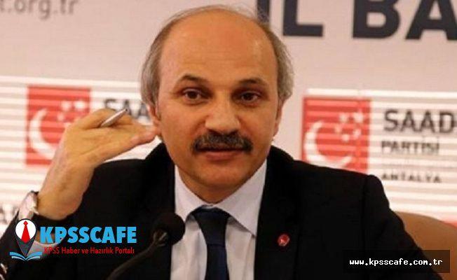 Saadet Partisi'nden kayyum tepkisi: Diyarbakır, Mardin ve Van halkının iradesine ipotek konulmuştur