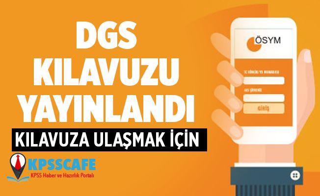 DGS tercih kılavuzu yayında!